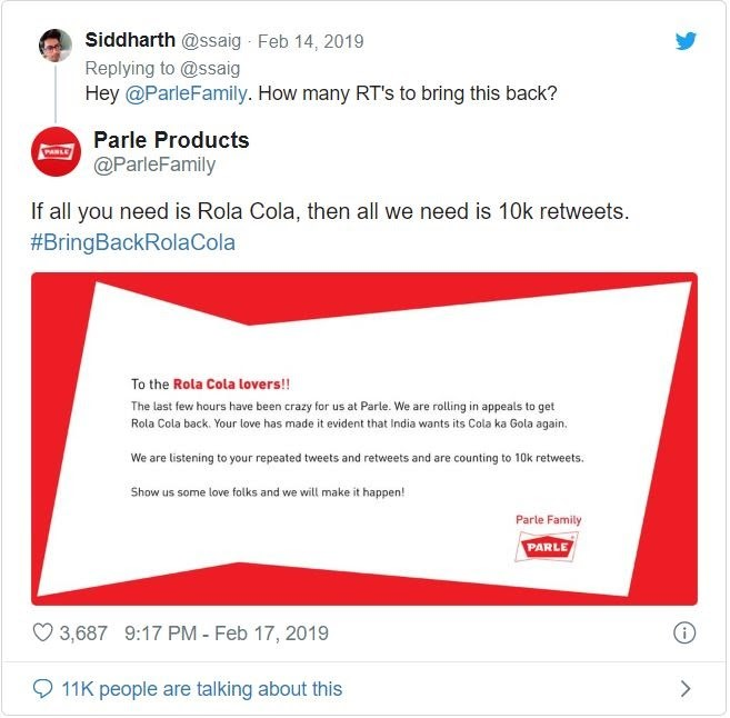 Parle Traced the Journey of the Much Loved Rola-Cola