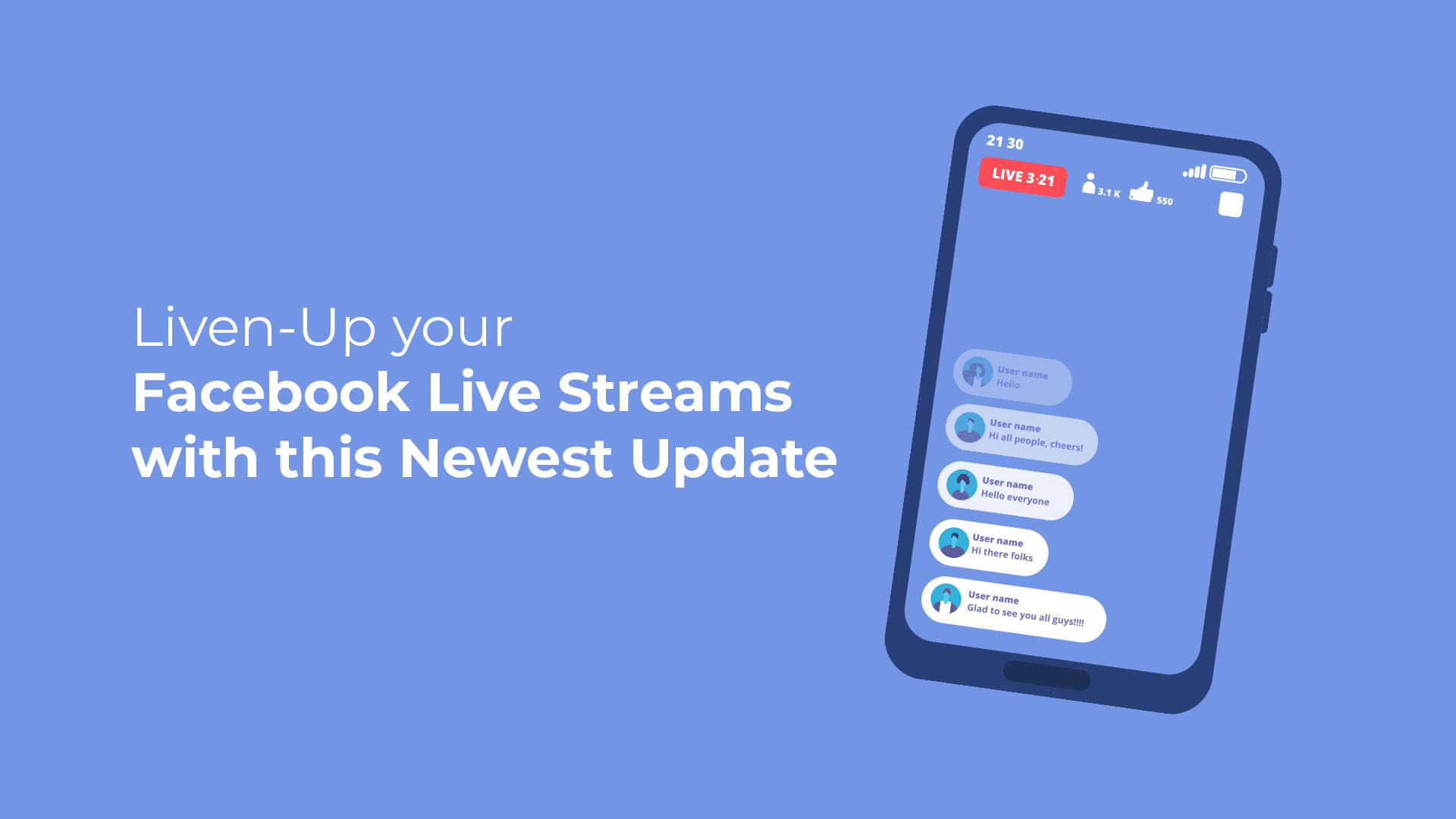 Liven-Up your Facebook Live Streams with this Newest Update