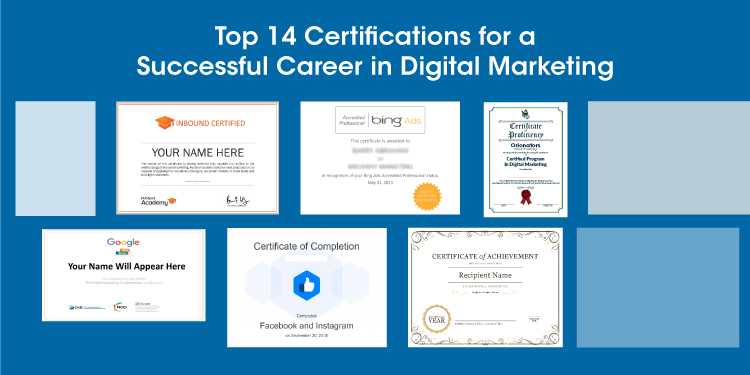 14 digital marketing certifications that will boost your career