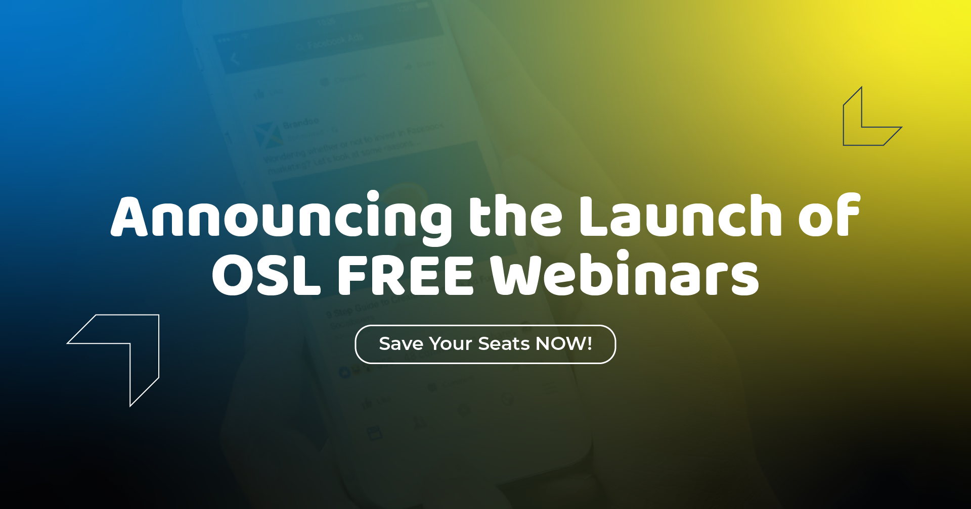 Announcing the Launch of OSL FREE Webinars