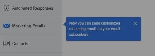 Marketing Emails